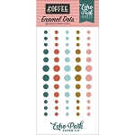 Coffee Enamel Dots