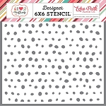 I Heart Crafting Paint Dots Stencil