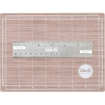 Mini Magnetic Cutting Mat & Ruler