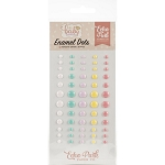 Hello Baby Girl Enamel Dots