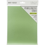 Pearlescent Cardstock 8.5 x 11 Fresh Mint