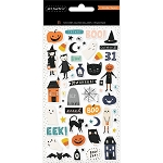 Hey Pumpkin Puffy Stickers