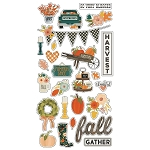 Fall Farmhouse Chipboard Stickers