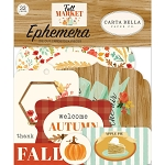 Fall Market Icons Ephemera