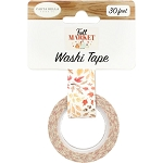 Fall Market Whisking Leaves Washi Tape
