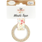 Fall Market Fall Floral Washi Tape