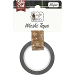 Warm & Cozy Winter Woodgrain Washi Tape