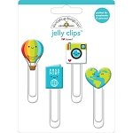 I Heart Travel Jelly Clips