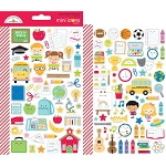 School Days Mini Icons Stickers