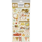 Fall Market Accents Chipboard
