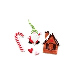 Home For Christmas Silicone Embellishments