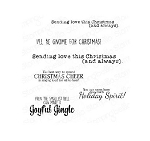 Festive Gnome Sentiments Stamp Set