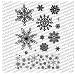Christmas Snowflakes Stamp Set