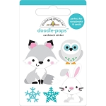 Winter Wonderland Foxy & Friends Doodle Pops