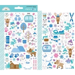 Winter Wonderland Mini Icon Stickers