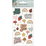 Magical Forest Puffy Stickers