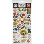 All Boy Accents Chipboard