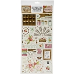 Farmhouse Market Accents Chipboard