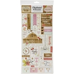 Farmhouse Market Phrases Chipboard