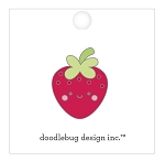 Bar-B-Cute Berry Cute Enamel Pin