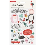 Hey Santa Sticker Book