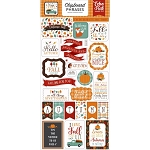 Happy Fall Phrases Chipboard