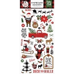 Lumberjack Christmas Chipboard Accents