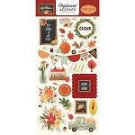 Hello Autumn Accents Chipboard