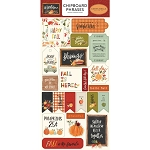 Hello Autumn Phrases Chipboard