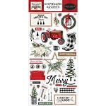 Farmhouse Christmas Chipboard Accents