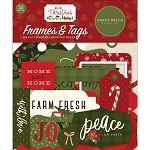 Hello Christmas Frames & Tags Ephemera