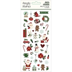 Jingle All the Way Puffy Stickers
