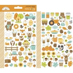 Pumpkin Spice Mini Icons Stickers