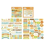 Pumpkin Spice Chit Chat Die Cuts