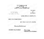 Merry Slothmas Sentiment Stamp Set