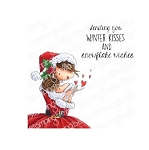 Uptown Girl Katrina's Christmas Kisses Stamp Set