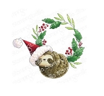 Sloth Wreath Stamp