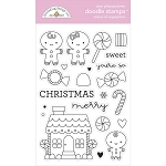 Night Before Christmas Visions of Sugar Plums Stamp Set