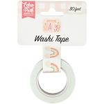 Welcome Baby Girl Sweet Rainbows Washi Tape