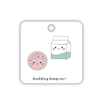 Made With Love Cookies & Cream Collectible Pins