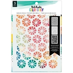 Color Study Bubbles Stencil Set