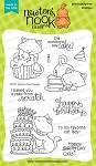 Newton Loves Cake Stamp set