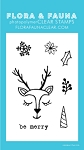 Mini Reindeer Love Stamp Set
