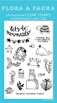 Mermaid Birthday Party Stamp Set