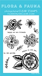 Pencil Flowers Stamp Set