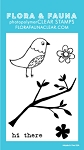Mini Aviary Blossom Stamp Set