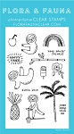 Summer Sloth Stamp Set