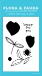 Mini Brush Petal Stamp Set