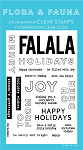 Holiday Word Party 2 Stamp Set