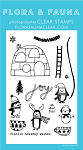 Winter Penguin Party Stamp Set